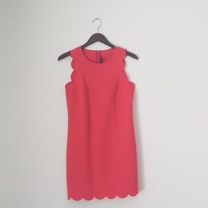J. Crew Dresses - J. Crew scalloped edged dress